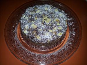 receta BROWNIE AL MICROONDAS