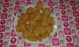 receta Galletas de Navidad de miel y jengibre