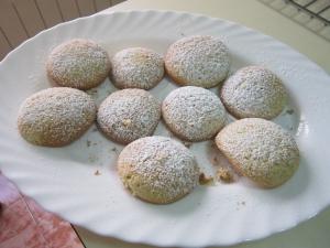 receta GALLETAS DE NATA