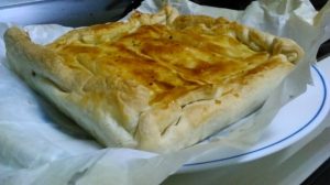 receta Empanada de carne en masa de hojaldre
