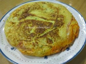 receta sandwichón de Jamón y Queso